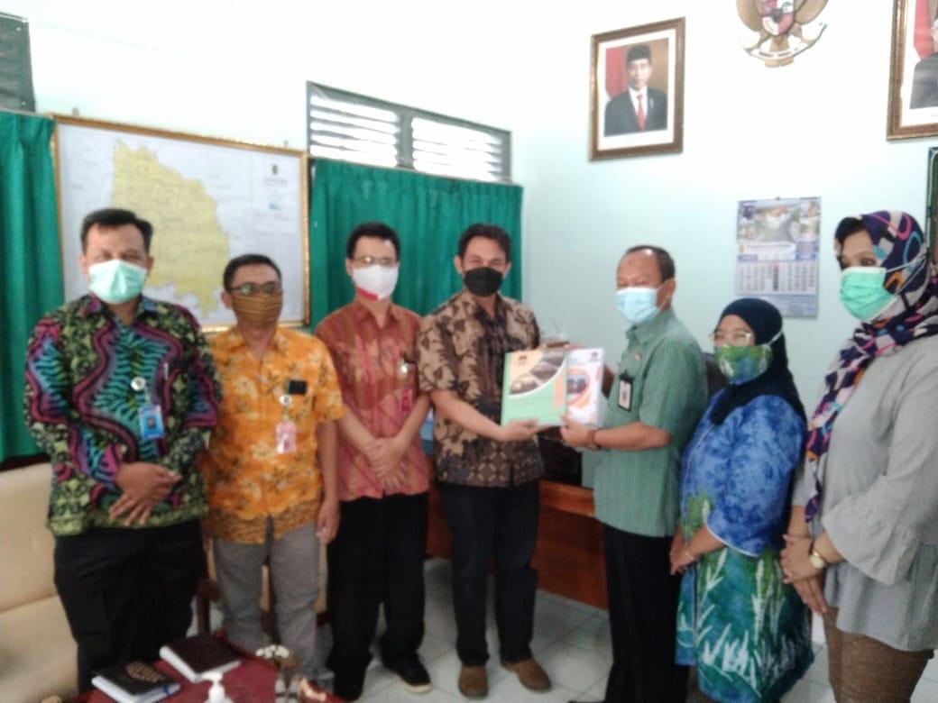 Kunjungan KPU Kota Yogyakarta ke- Badan Kesbangpol Kota Yogyakarta