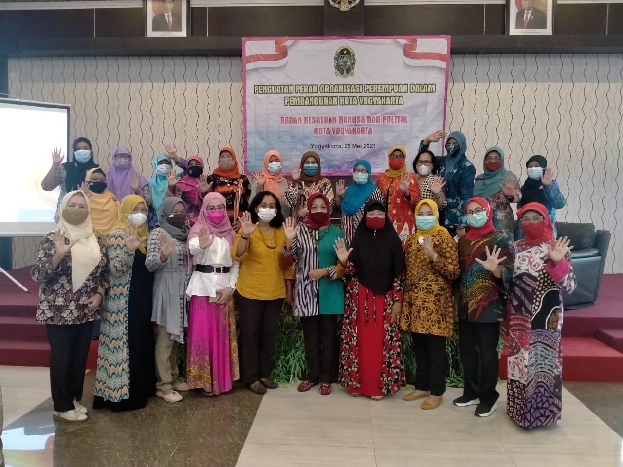 Pembinaan Organisasi Masyarakat di Kota Yogyakarta